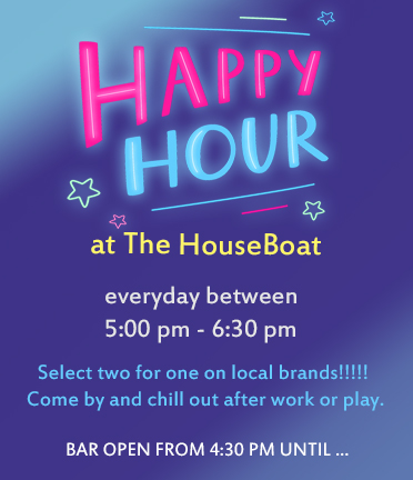 HouseBoat Happy Hour